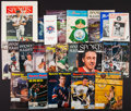 Miscellaneous Collectibles:General, 1956-9 0 Sports Illustrated Magazines, Yearbooks, Programs, Etc.Lot of 21....