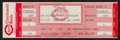 Baseball Collectibles:Tickets, 1985 Pete Rose 4,192 Hit Game Full Ticket. ...