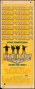 """Movie Posters:Rock and Roll, Help! (United Artists, 1965). Insert (14"""" X 36""""). Rock and Roll....."""