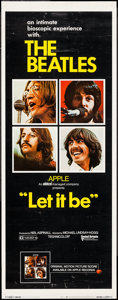 "Movie Posters:Rock and Roll, Let It Be (United Artists, 1970). Insert (14"" X 36""). Rock andRoll.. ..."