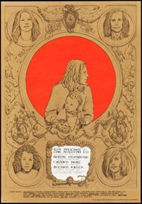 """Big Brother & The Holding Company at the Avalon Ballroom (Family Dog Productions, 1967). Concert Poster (14""""..."""