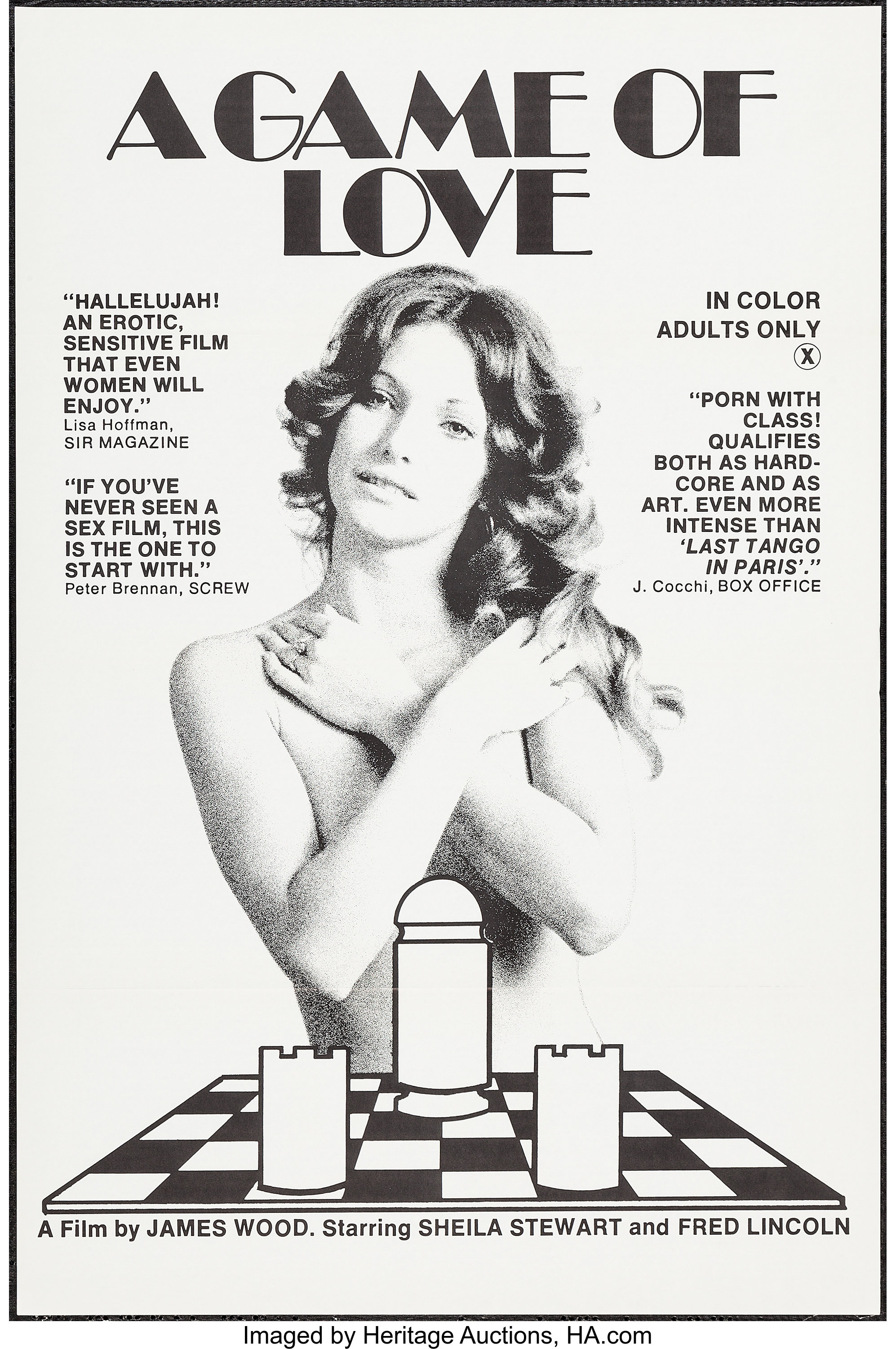 Game Of Love Sheets a game of love & other lot (virgo 3 films, 1974). one sheets