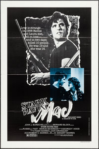 """Stark Raving Mad & Other Lot (Independent, 1983). One Sheets (25) (27"""" X 41"""") Flat Folded. Drama..."""