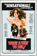 """Movie Posters:Foreign, What a Way to Die & Other Lot (William Mishkin Motion Pictures Inc., 1971). One Sheets (34) (27"""" X 41"""") Flat Folded. Foreign... (Total: 34 Items)"""