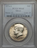 Kennedy Half Dollars, 1976-S 50C Silver MS68 PCGS. PCGS Population (383/1). NGC Census: (23/0). Mintage: 11,000,000. Numismedia Wsl. Price for pr...