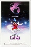 "Movie Posters:Animation, Fantasia (Buena Vista, R-1985). One Sheet (27"" X 41""). Animation.. ..."