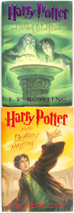 Books:Children's Books, J. K. Rowling. Pair of Harry Potter Books. [New York]:Arthur A. Levine, [2005-2007]. Both later printings. Incl...(Total: 2 Items)