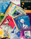 Books:Music & Sheet Music, [Sheet Music]. Large Lot of Approximately Forty-Eight Sets of Popular Sheet Music. Various publishers and dates, circa 1920s...