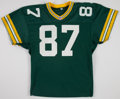 Football Collectibles:Uniforms, 1991 Clarence Weathers Game Worn Green Bay Packers Jersey....