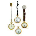 Timepieces:Pocket (post 1900), A Lot Of Four Pocket Watches Runners. ... (Total: 4 Items)