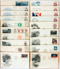 Miscellaneous:Ephemera, Group of Twenty Revolutionary War Themed Philatelic First DayCovers and Postcards. 1971-1975. ...