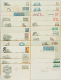 Miscellaneous:Ephemera, Group of Twenty-Two Philatelic First Day Covers and Postcards.1964-1975....