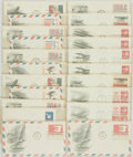 Miscellaneous:Ephemera, Group of Twenty-One Airmail Themed Philatelic First Day Covers. 1971-1974. ...