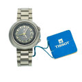 Timepieces:Wristwatch, Like New/Old Stock Tissot Navigator T12 World Time Wristwatch. ...