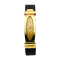 Timepieces:Wristwatch, Bueche Girod 18k Gold Wristwatch. ...
