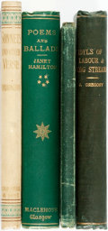 Books:Literature Pre-1900, [Literature]. Group of Four Poetry Books. Various publishers anddates.... (Total: 4 Items)