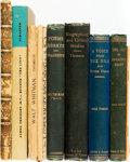 Books:Literature Pre-1900, [Literature/Biography]. Group of Ten Books. Includes: Group of NineTitles by James Thompson [and:] The Hound of Hea... (Total: 10Items)
