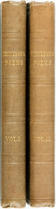 Books:Literature Pre-1900, Alfred Tennyson. Poems. In Two Volumes. London: EdwardMoxon, 1846.... (Total: 2 Items)