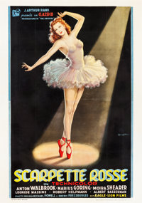 "The Red Shoes (Eagle Lion, 1949). Italian 4 - Foglio (55"" X 78"")"
