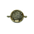 Estate Jewelry:Pendants and Lockets, Silver Coin, Vermeil Pendant. ...