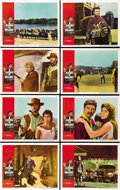 "Movie Posters:Western, A Fistful of Dollars (United Artists, 1967). Lobby Card Set of 8(11"" X 14""). ... (Total: 8 Items)"