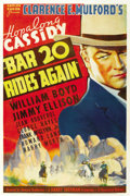 """Movie Posters:Western, Bar 20 Rides Again (Paramount, 1935). One Sheet (27"""" X 41""""). ..."""