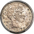 Barber Quarters, 1898-S 25C MS65+ PCGS....