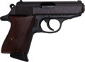 Handguns:Semiautomatic Pistol, Engraved Walther Model PPK 75th Anniversary Semi-Automatic Pistol....