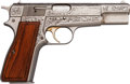 Handguns:Semiautomatic Pistol, Engraved FN Browning Classic One of Five Thousand Hi-Power Semi-Automatic Pistol....
