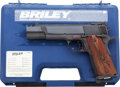 Handguns:Semiautomatic Pistol, Cased Briley Carry Comp Semi-Automatic Pistol....