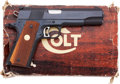 Handguns:Semiautomatic Pistol, Boxed Colt MKIV/Series 70 Gold Cup National Match Semi-AutomaticPistol....