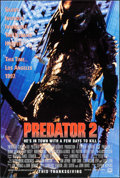 "Movie Posters:Science Fiction, Predator 2 (20th Century Fox, 1990). One Sheets (2) (27"" X 40"") DSThanksgiving and Christmas Advance Styles. Science Fictio...(Total: 2 Items)"