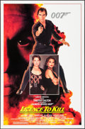 """Movie Posters:James Bond, Licence to Kill (United Artists, 1989). One Sheets (2) (27"""" X 41"""")Regular and Advance. James Bond.. ... (Total: 2 Items)"""