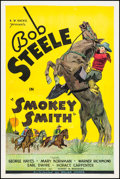 "Movie Posters:Western, Smokey Smith (William Steiner, 1935). One Sheet (27"" X 41""). Western.. ..."