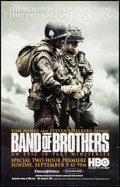 """Movie Posters:War, Band of Brothers (HBO Films, 2001). Television Posters (3) (21"""" X33"""") Wounded Solider, Soldier with Map, & Two Soldiers Sty...(Total: 3 Items)"""