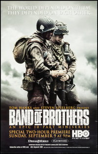 "Band of Brothers (HBO Films, 2001). Television Posters (3) (21"" X 33"") Wounded Solider, Soldier with Map, &..."