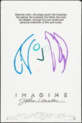 """Movie Posters:Rock and Roll, Imagine: John Lennon (Warner Brothers, 1988). One Sheet (27"""" X 41"""")Purple Hair Style. Rock and Roll.. ..."""