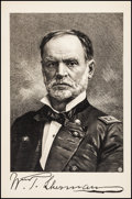 "Movie Posters:War, General William Tecumseh Sherman (The Chicago Bank Note Company, c.1890s). Art Print (24.5"" X 37.5""). War.. ..."