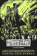 """Movie Posters:Action, Streets of Fire (Universal, 1984). One Sheets (5) (27"""" X 40"""")Advance Red, Purple, Green, & Orange Styles & Regular PGStyle... (Total: 5 Items)"""