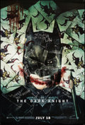 "Movie Posters:Action, The Dark Knight (Warner Brothers, 2008). One Sheet (27"" X 40"")Advance Style H. Action.. ..."