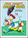"Movie Posters:Animation, Donald's Golf Game (Circle Fine Art, R-1980s). Fine Art Serigraphs (5) (22.5"" X 30.5""). Animation.. ... (Total: 5 Items)"