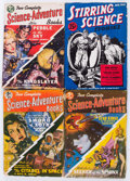 Pulps:Science Fiction, Assorted Science Fiction Pulps Group (Various, 1941-54) Condition:Average VG-.... (Total: 17 Comic Books)