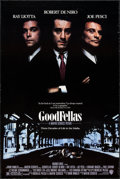 """Movie Posters:Crime, Goodfellas (Warner Brothers, 1990). One Sheet (27"""" X 40.25"""") DS.Crime.. ..."""