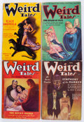 Pulps:Horror, Weird Tales Group (Popular Fiction, 1935-91) Condition: AverageVG.... (Total: 18 Items)