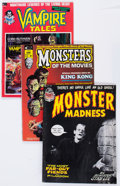 Magazines:Horror, Marvel Horror Magazines Group (Marvel, 1972-76) Condition: Average FN.... (Total: 20 Comic Books)