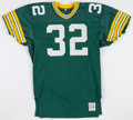 Football Collectibles:Uniforms, 1991 Steve Avery Game Worn Green Bay Packers Jersey....