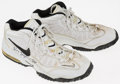 Basketball Collectibles:Others, 1997-98 Roy Rogers Game Worn, Signed Shoes. ...