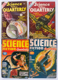 Pulps:Science Fiction, Science Fiction Quarterly Group (Double Action Magazines, 1940-57)Condition: Average GD/VG.... (Total: 15 Comic Books)
