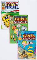Bronze Age (1970-1979):Cartoon Character, Richie Rich Gold and Silver Group (Harvey, 1975-82) Condition:Average NM-.... (Total: 101 Comic Books)