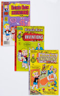 Bronze Age (1970-1979):Cartoon Character, Richie Rich Inventions File Copy Group (Harvey, 1977-82) Condition:Average NM-.... (Total: 59 Comic Books)